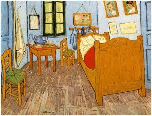 Stanza da letto, V. Gogh