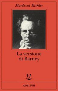 Libro da cui è tratto il film La versione di Barney
