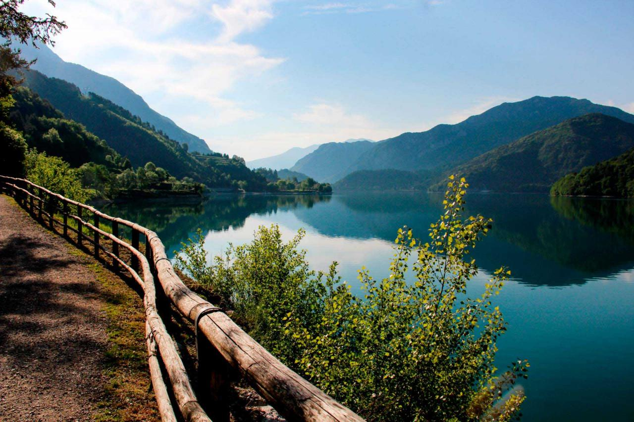 Lago di Ledro in Trentino